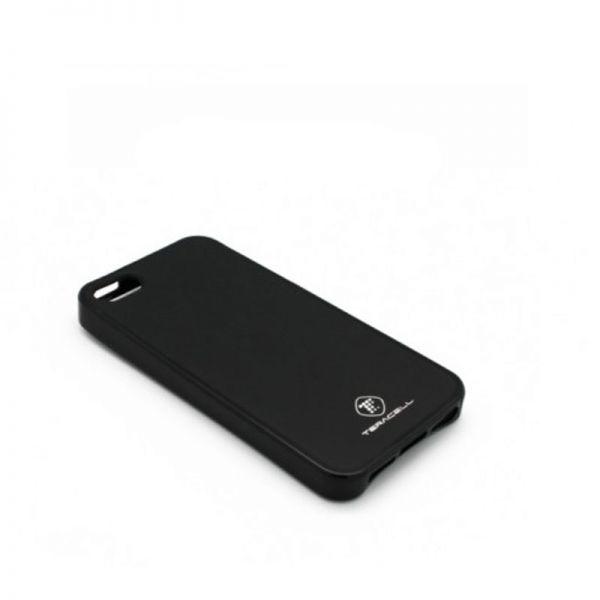 Futrola silikon Teracell Giulietta za iPhone 5/5S/SE, crna