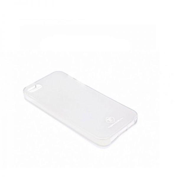 Futrola silikon Teracell Giulietta za iPhone 5/5S/SE, bela