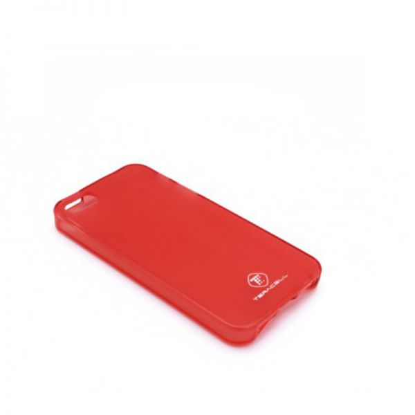 Futrola silikon Teracell Giulietta za iPhone 5/5S/SE, crvena