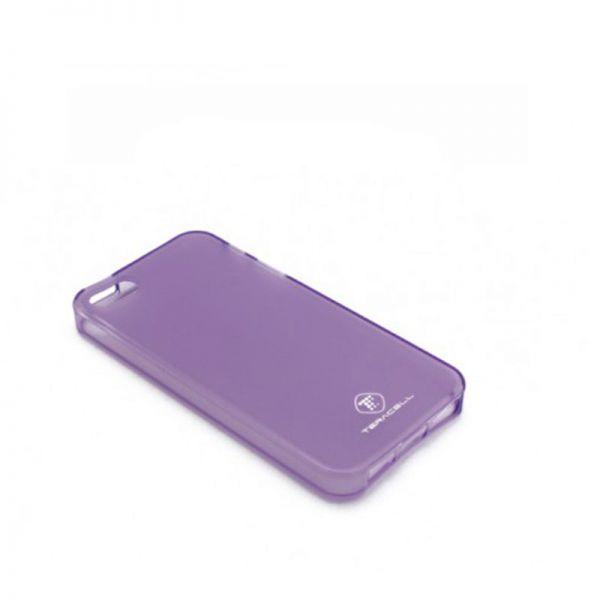 Futrola silikon Teracell Giulietta za iPhone 5/5S/SE, ljubičasta