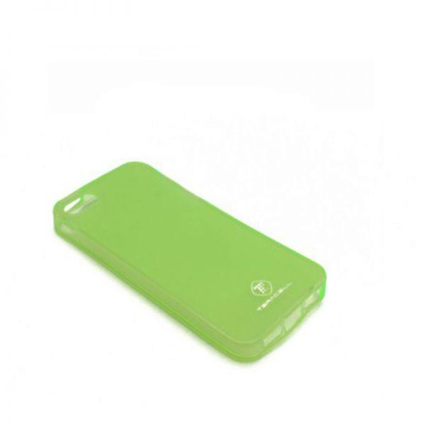 Futrola silikon Teracell Giulietta za iPhone 5/5S/SE, zelena
