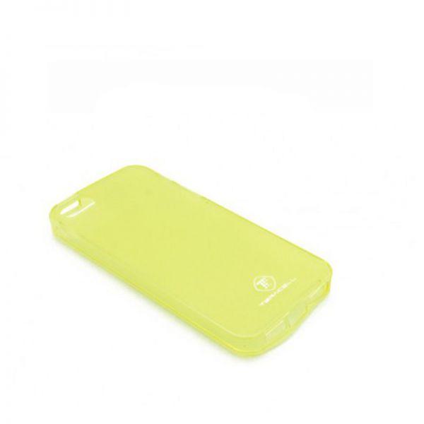 Futrola silikon Teracell Giulietta za iPhone 5/5S/SE, žuta