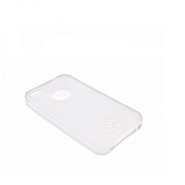 Futrola silikon Teracell Giulietta za iPhone 4/4S, bela
