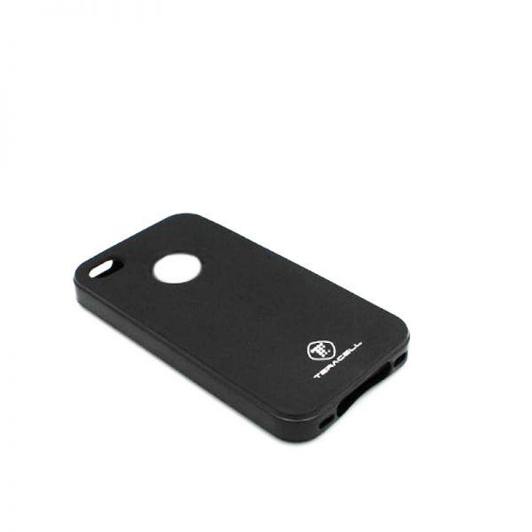 Futrola silikon Teracell Giulietta za iPhone 4/4S, crna