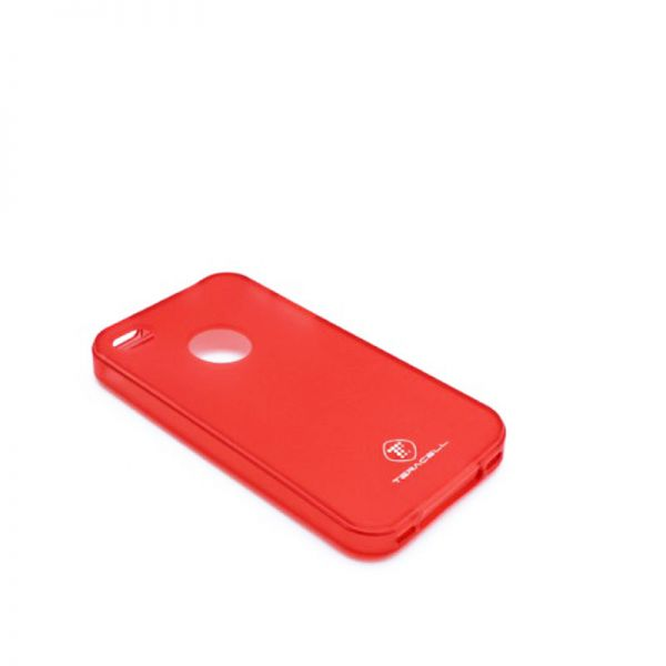 Futrola silikon Teracell Giulietta za iPhone 4/4S, crvena