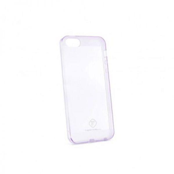 Futrola Teracell ultra tanki silikon za iPhone 5/5S/SE, ljubičasta