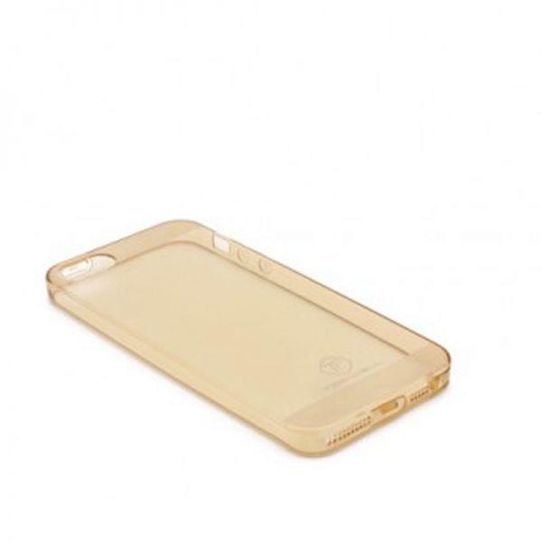 Futrola Teracell ultra tanki silikon za iPhone 5/5S/SE, zlatna
