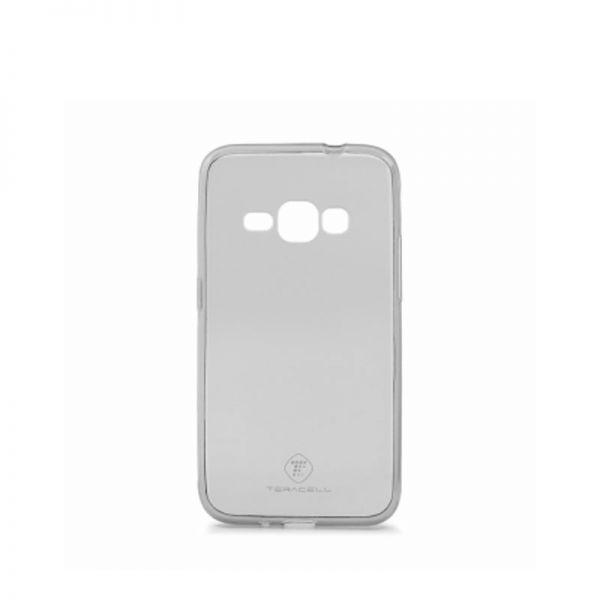 Futrola Teracell ultra tanki silikon za Samsung J120 J1 2016, siva