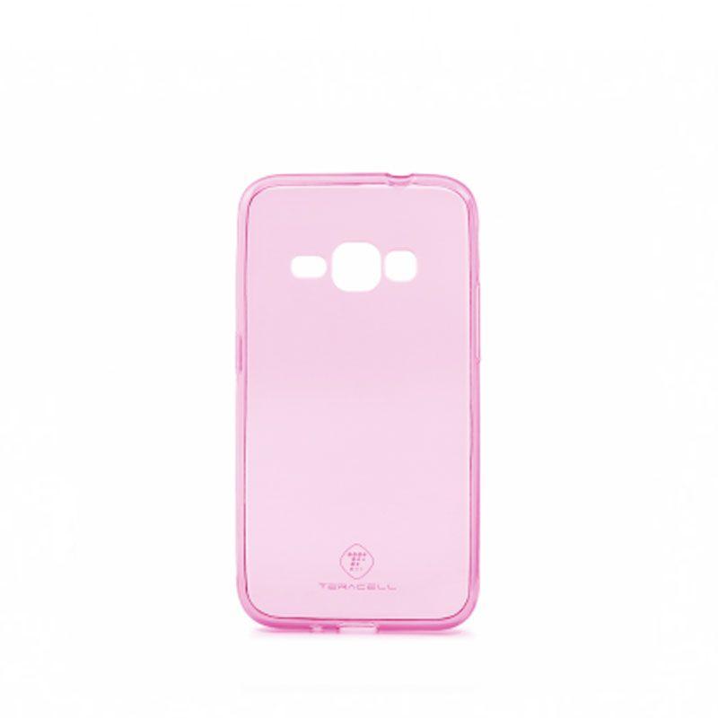 Futrola Teracell ultra tanki silikon za Samsung J120 J1 2016, pink