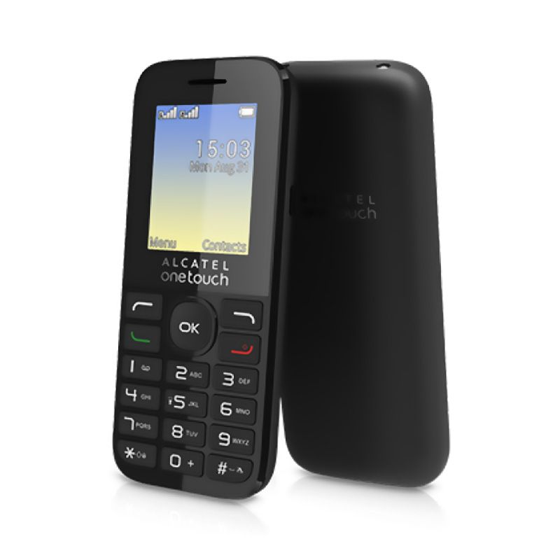 Mobilni telefon Alcatel One Touch 1016D, crni
