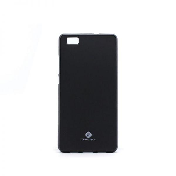 Futrola silikon Teracell Giulietta za Huawei P8 lite, crna
