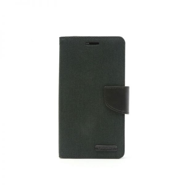 Futrola na preklop Mercury Canvas za Huawei P8 lite, crna