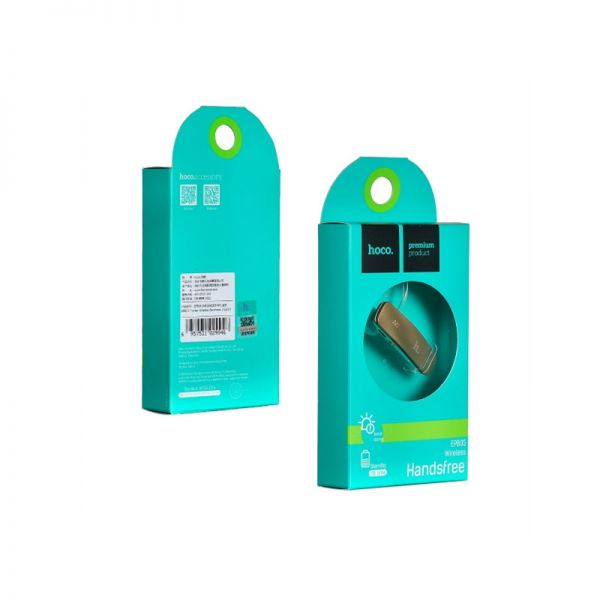 Hoco EPB05 Bluetooth slušalica, zlatna