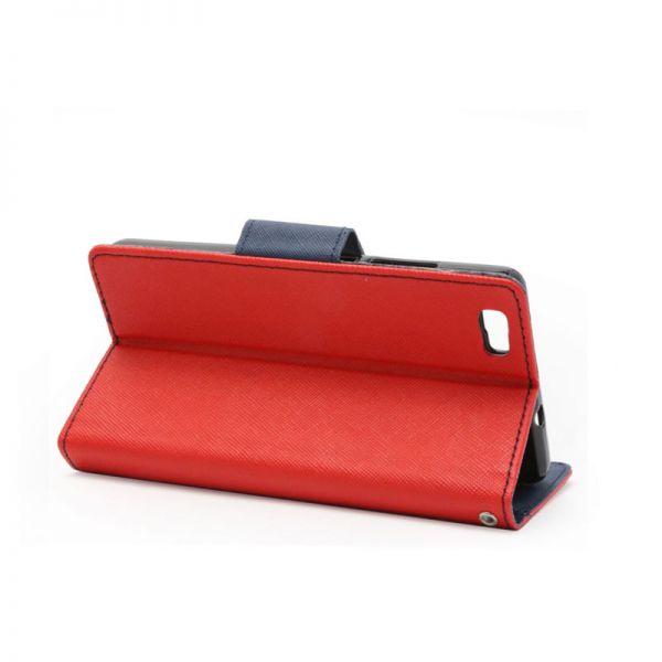 Futrola na preklop Mercury za Huawei P8 lite, crvena
