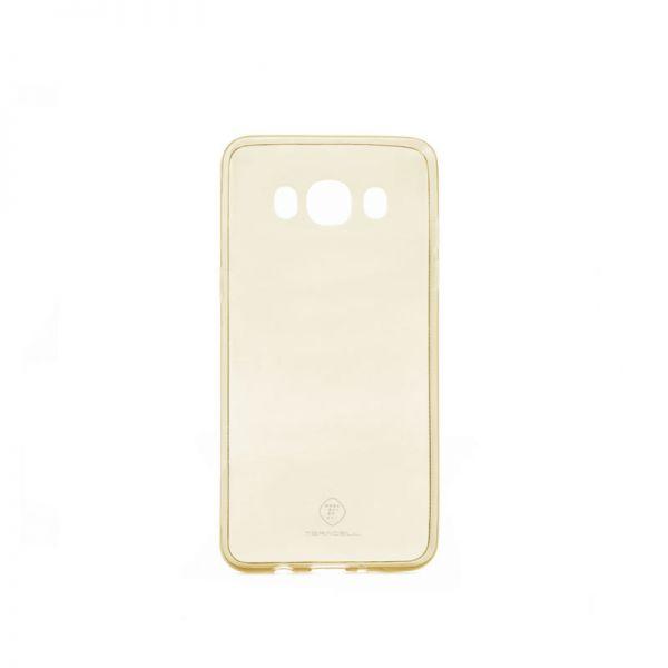 Futrola Teracell ultra tanki silikon za Samsung J510 J5 2016, zlatna