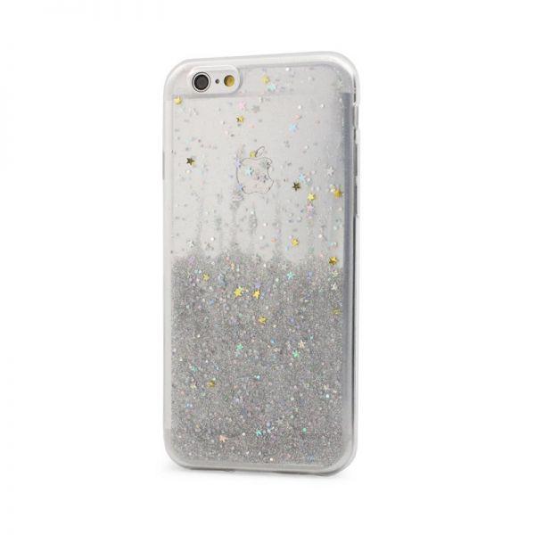 Futrola silikon Leaves ombre za iPhone 6/6s, bela
