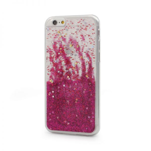 Futrola silikon Leaves ombre za iPhone 6/6s, pink