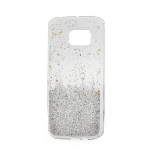 Futrola silikon Leaves ombre za Samsung G925 S6 edge, bela