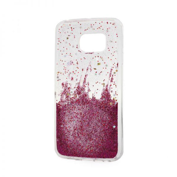 Futrola silikon Leaves ombre za Samsung G925 S6 edge, pink