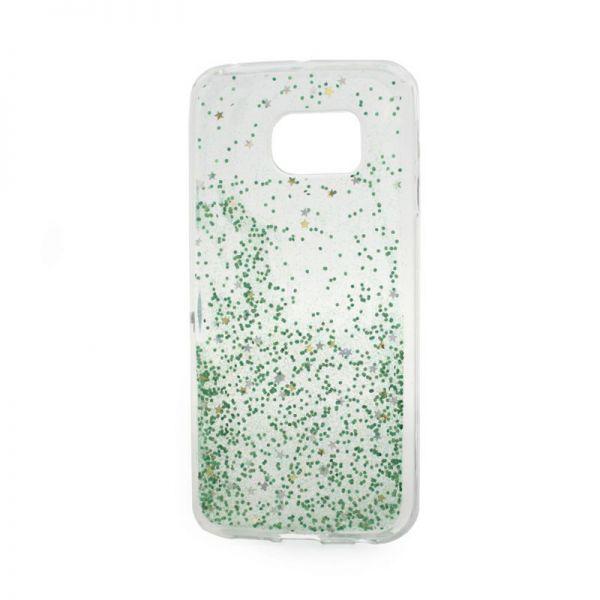 Futrola silikon Leaves ombre za Samsung G925 S6 edge, zelena