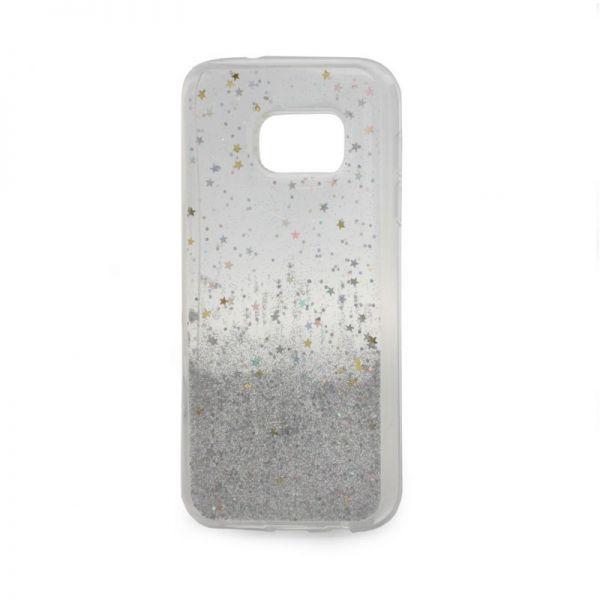 Futrola silikon Leaves ombre za Samsung G930 S7, bela