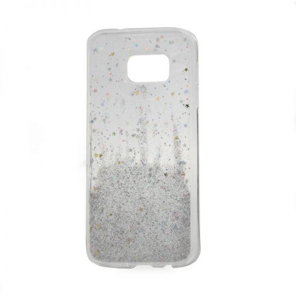 Futrola silikon Leaves ombre za Samsung G935 S7 edge, bela