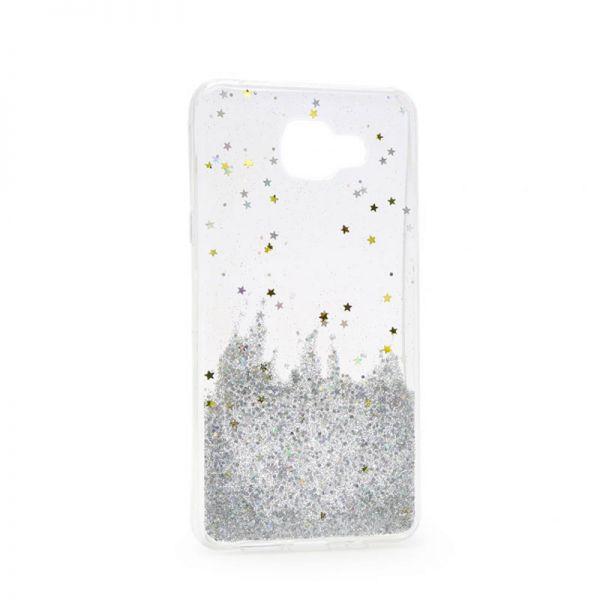 Futrola silikon Leaves ombre za Samsung J510 J5 2016, bela
