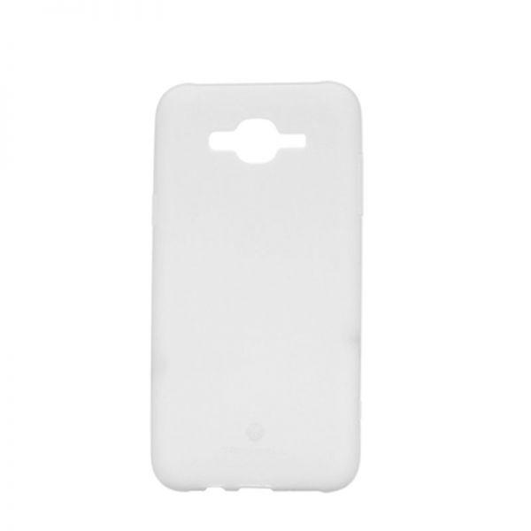 Futrola silikon Teracell Giulietta za Samsung J700 J7, bela