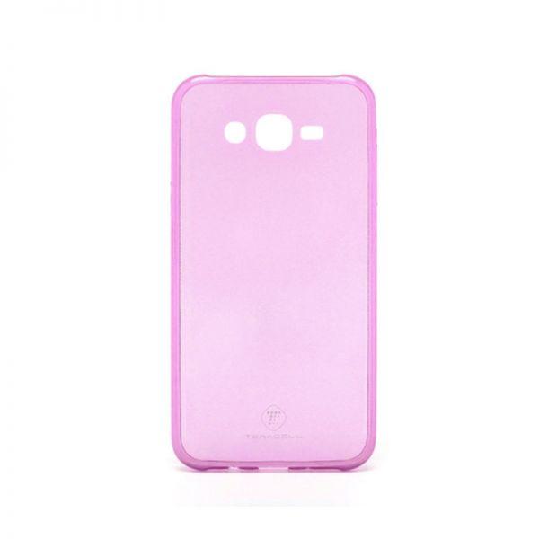 Futrola Teracell ultra tanki silikon za Samsung J700 J7, pink