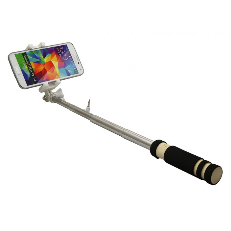 Štap za selfie mini 3.5mm, crni