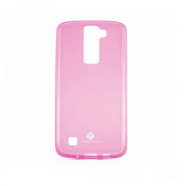 Futrola silikon Teracell Giulietta za Lg K8 /K350N, pink