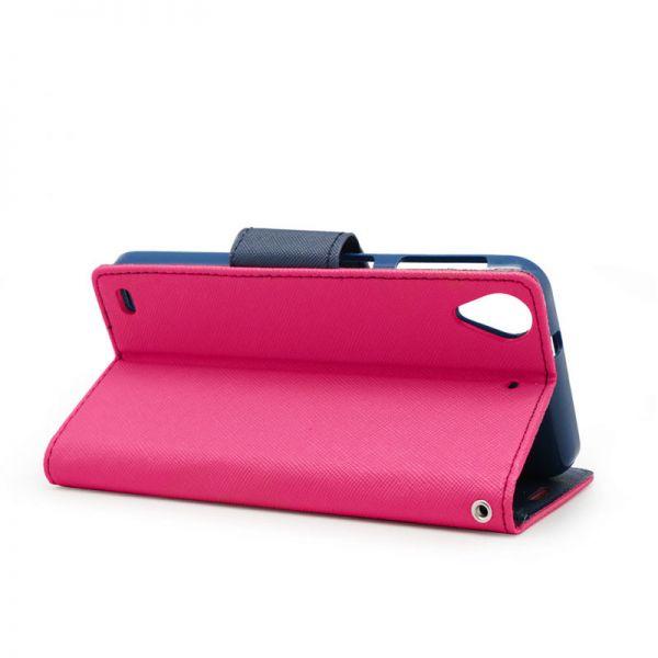 Futrola na preklop Mercury za HTC Desire 530/630, pink