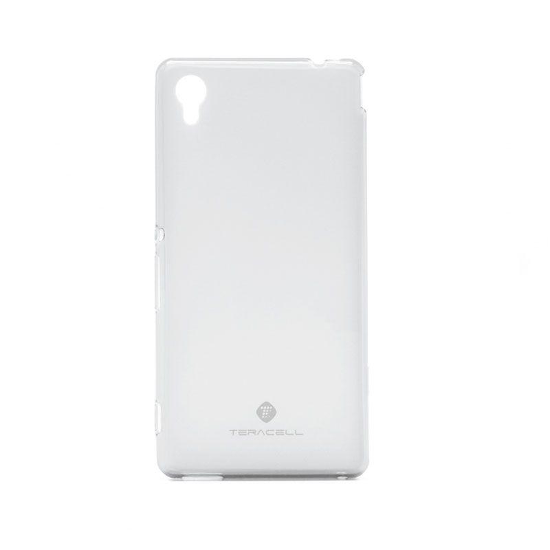 Futrola silikon Teracell Giulietta za Sony Xperia M4 Aqua/E2303, bela
