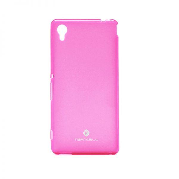 Futrola silikon Teracell Giulietta za Sony Xperia M4 Aqua/E2303, pink