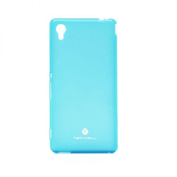 Futrola silikon Teracell Giulietta za Sony Xperia M4 Aqua/E2303, plava