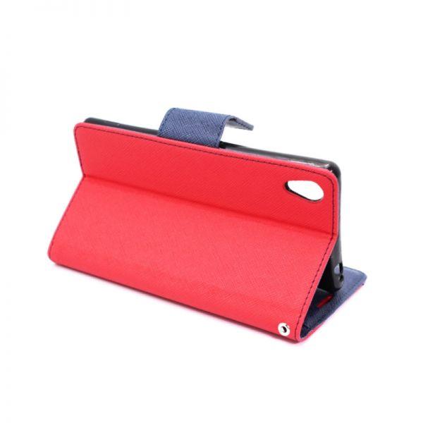 Futrola na preklop Mercury za Sony Xperia M4 Aqua/E2303, crvena