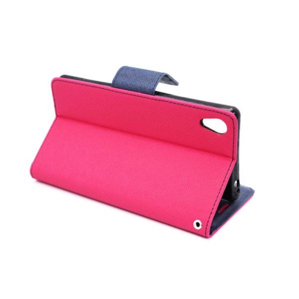 Futrola na preklop Mercury za Sony Xperia M4 Aqua/E2303, pink
