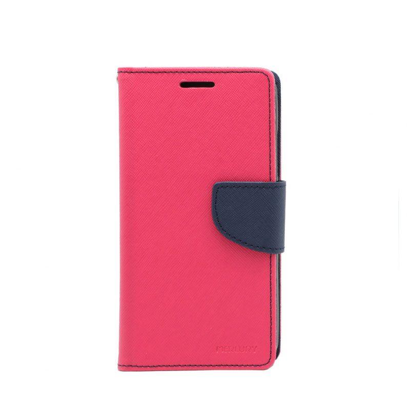 Futrola na preklop Mercury za Lenovo Vibe C A2020, pink