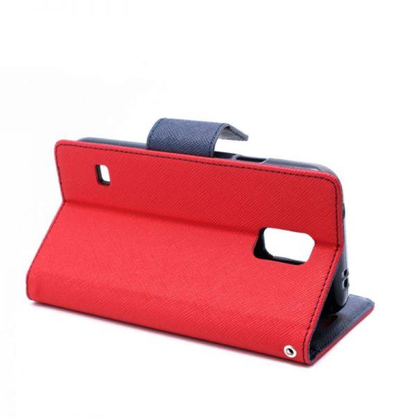 Futrola na preklop Mercury za Samsung i9600 S5, crvena