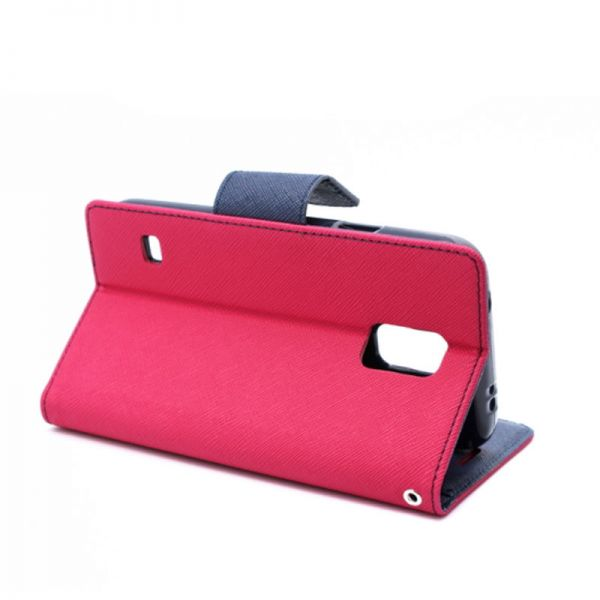 Futrola na preklop Mercury za Samsung i9600 S5, pink