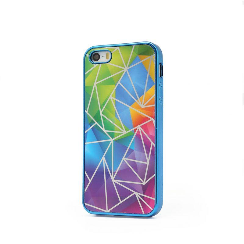Futrola silikonska Akvarel za iPhone 5/5S/SE, plava