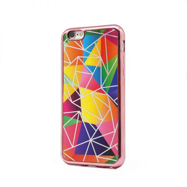 Futrola silikonska Akvarel za iPhone 6/6S, pink