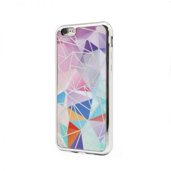 Futrola silikonska Akvarel za iPhone 6/6S, srebrna