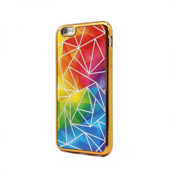 Futrola silikonska Akvarel za iPhone 6/6S, zlatna