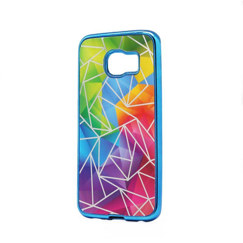 Futrola silikonska Akvarel za Samsung G925 S6 edge, plava