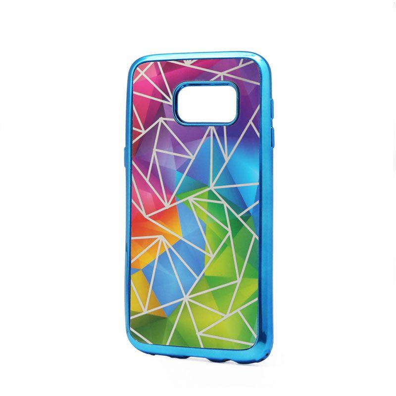 Futrola silikonska Akvarel za Samsung G930 S7, plava
