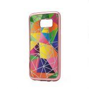 Futrola silikonska Akvarel za Samsung G930 S7, pink