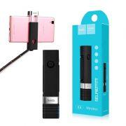 Selfie štap K4 Beauty wireless bluetooth crni