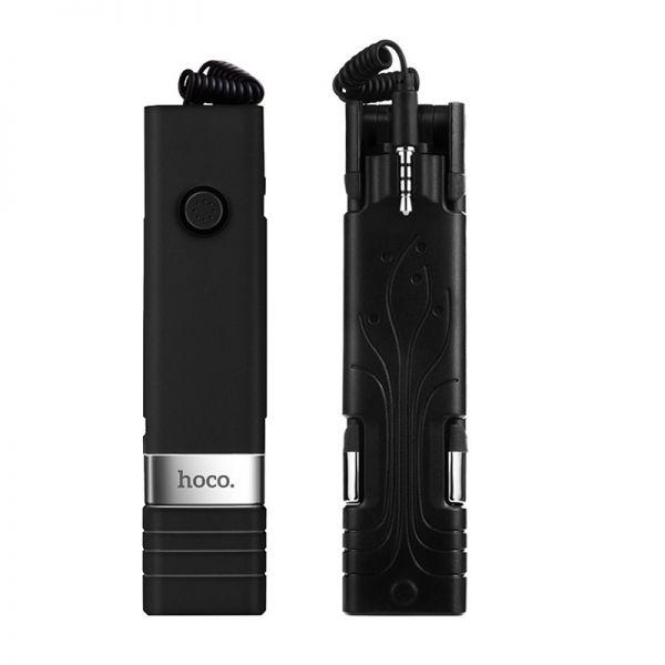 Selfie štap K3 Beauty wire controllable 3.5mm crni