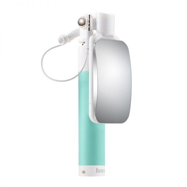 Selfie štap K2 magic mirror wire 3.5mm, zeleni